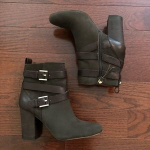 Louise et Cie suede and leather ankle boots
